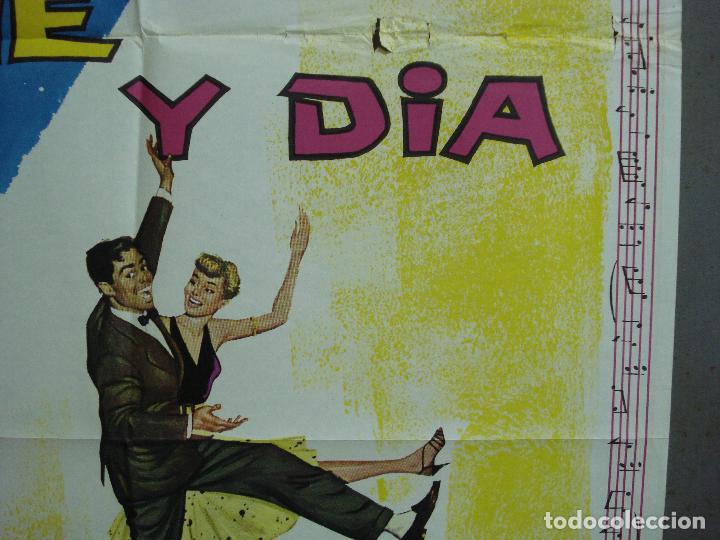 Cine: CDO 2350 NOCHE Y DIA CARY GRANT ALBERICIO POSTER ORIGINAL 70X100 ESPAÑOL R-67 - Foto 8 - 204140446