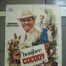 Cine: CDO 2352 EL HOMBRE DE COCODY JEAN MARAIS MAC POSTER ORIGINAL ESTRENO 70X100. Lote 204141373