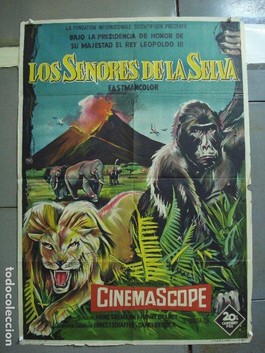 CDO 2365 LOS PEDIGÜEÑOS TONY LEBLANC POSTER ORIGINAL 70X100 ESPAÑOL R-73 (Cine - Posters y Carteles - Documentales)