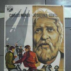 Cine: AAH27 GAUDI CARLOS MENDY JOSEFINA GUELL SOLIGO MODERNISMO POSTER ORIGINAL 70X100 ESTRENO LITOGRAFIA. Lote 204159523