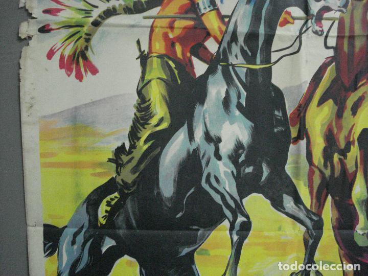Cine: AAH36 LA CARGA DE LOS JINETES INDIOS SOLIGO GUY MADISON MILES POSTER ORIG 70X100 ESTRENO LITOGRAFIA - Foto 3 - 204164241