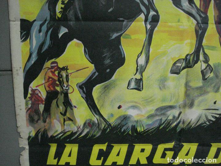 Cine: AAH36 LA CARGA DE LOS JINETES INDIOS SOLIGO GUY MADISON MILES POSTER ORIG 70X100 ESTRENO LITOGRAFIA - Foto 4 - 204164241