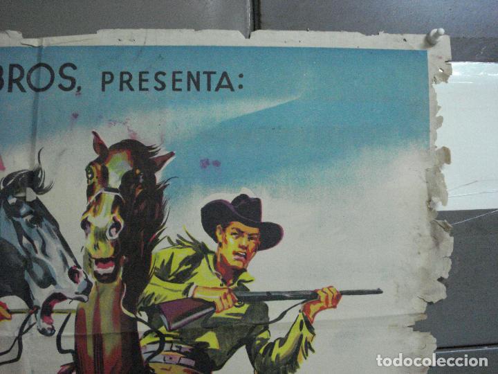 Cine: AAH36 LA CARGA DE LOS JINETES INDIOS SOLIGO GUY MADISON MILES POSTER ORIG 70X100 ESTRENO LITOGRAFIA - Foto 6 - 204164241