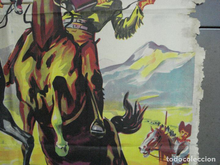 Cine: AAH36 LA CARGA DE LOS JINETES INDIOS SOLIGO GUY MADISON MILES POSTER ORIG 70X100 ESTRENO LITOGRAFIA - Foto 7 - 204164241