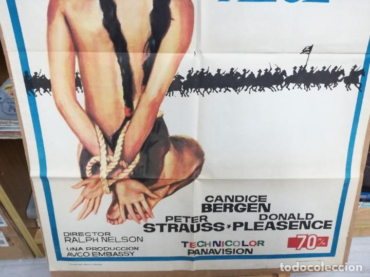 Cine: SOLDADO AZUL - 1972 - DE RALPH NELSON CON CANDICE BERGEN, PETER STRAUSS Y DONALD .100X70 CM - Foto 2 - 204166142