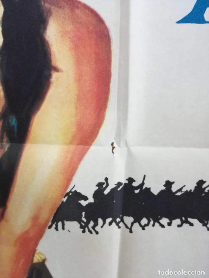 Cine: SOLDADO AZUL - 1972 - DE RALPH NELSON CON CANDICE BERGEN, PETER STRAUSS Y DONALD .100X70 CM - Foto 4 - 204166142
