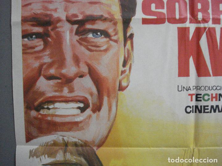 Cine: AAH45 EL PUENTE SOBRE EL RIO KWAI DAVID LEAN ALEC GUINNESS WILLIAM HOLDEN JANO POSTER ORG 70X100 R71 - Foto 3 - 204171356