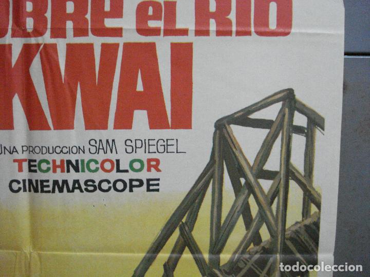 Cine: AAH45 EL PUENTE SOBRE EL RIO KWAI DAVID LEAN ALEC GUINNESS WILLIAM HOLDEN JANO POSTER ORG 70X100 R71 - Foto 7 - 204171356