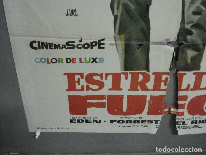 Cine: AAH53 ESTRELLA DE FUEGO flaming star ELVIS PRESLEY POSTER ORIGINAL ESPAÑOL 70X100 ESTRENO - Foto 5 - 204175038