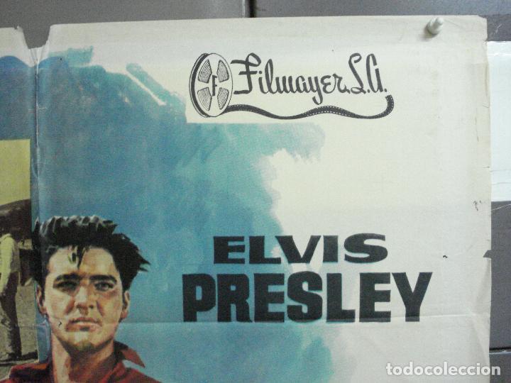 Cine: AAH53 ESTRELLA DE FUEGO flaming star ELVIS PRESLEY POSTER ORIGINAL ESPAÑOL 70X100 ESTRENO - Foto 6 - 204175038