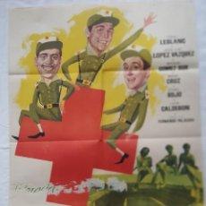 Cine: PÓSTER ORIGINAL 3 DE LA CRUZ ROJA (1961). Lote 204185061