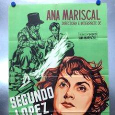 Cine: SEGUNDO LOPEZ AVENTURERO URBANO, ANA MARISCAL, TONY LEBLANC - LITOGRAFIA - AÑO 1953 - JANO. Lote 204187321