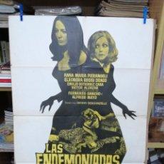 Cine: LAS ENDEMONIADAS, ANNA MARIA PIERANGELI, FERNANDO SANCHO, ALFREDO MAYO - AÑO 1971. Lote 204190223