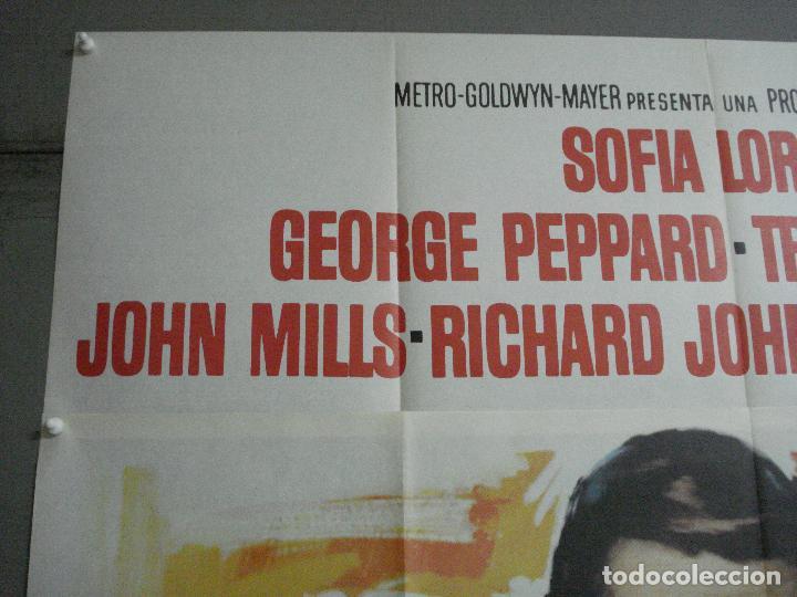 Cine: CDO 2367 OPERACION CROSSBOW GEORGE PEPPARD SOFIA /SOPHIA LOREN POSTER ORIG 3 hojas 100X205 ESTRENO - Foto 2 - 204257478