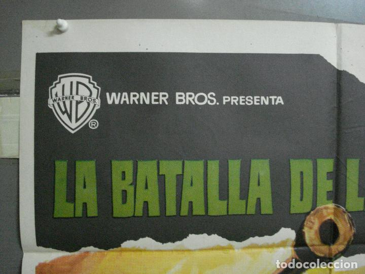 Cine: CDO 2404 LA BATALLA DE LAS ARDENAS HENRY FONDA CHARLES BRONSON POSTER ORIGINAL 70X100 ESTRENO - Foto 2 - 204306343