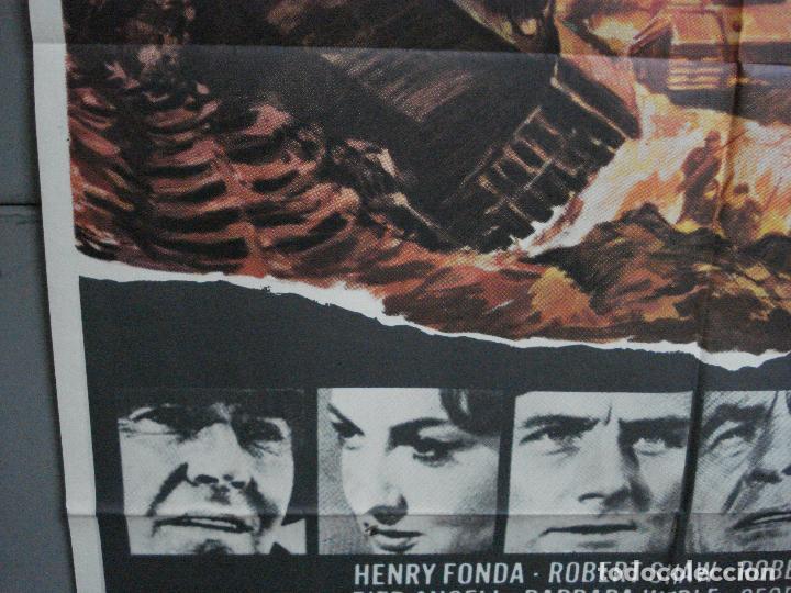 Cine: CDO 2404 LA BATALLA DE LAS ARDENAS HENRY FONDA CHARLES BRONSON POSTER ORIGINAL 70X100 ESTRENO - Foto 4 - 204306343