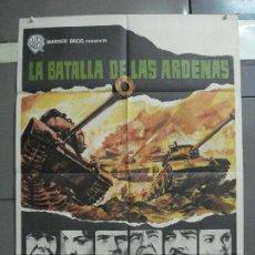 Cine: CDO 2404 LA BATALLA DE LAS ARDENAS HENRY FONDA CHARLES BRONSON POSTER ORIGINAL 70X100 ESTRENO. Lote 204306343