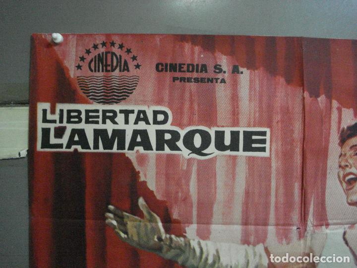 Cine: CDO 2414 BAMBALINAS LIBERTAD LAMARQUE POSTER ORIGINAL 70X100 ESTRENO - Foto 2 - 204313703
