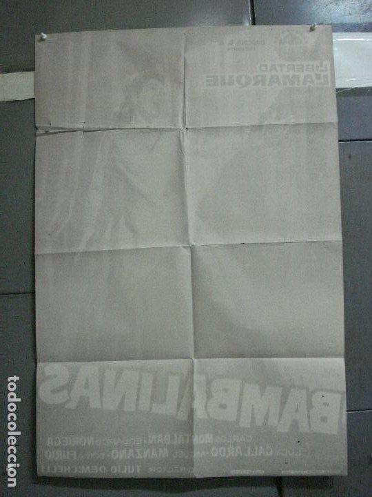 Cine: CDO 2414 BAMBALINAS LIBERTAD LAMARQUE POSTER ORIGINAL 70X100 ESTRENO - Foto 10 - 204313703