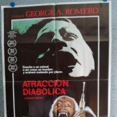 Cine: ATRACCIÓN DIABÓLICA. JASON BEGHE, JOHN PANKOW, KATE MCNEIL. AÑO 1974. POSTER ORIGINAL. Lote 204339353