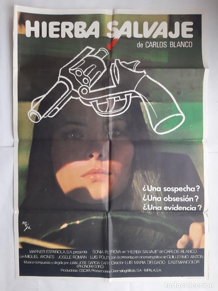 Cine: ANTIGUO CARTEL CINE HIERBA SALVAJE + 12 FOTOCROMOS 1978 MGR CC204 - Foto 2 - 204372007