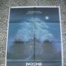 Cine: PÓSTER DE CINE ORIGINAL 70X100CM NOCHE DE MIEDO. Lote 204377662