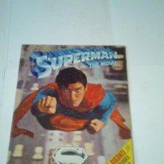 Cine: SUPERMAN THE MOVIE - POSTER GIGANTE - PERTENECE AL ALBUM DE FHER - BUEN ESTADO - GORBAUD. Lote 204503246