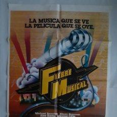 Cine: ANTIGUO CARTEL CINE FIEBRE MUSICAL FM + 12 FOTOCROMOS 1978 CC220. Lote 204532845