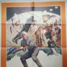 Cine: PÓSTER ORIGINAL EL ASALTO DE LOS HOMBRES PÁJARO 1976. Lote 204549666