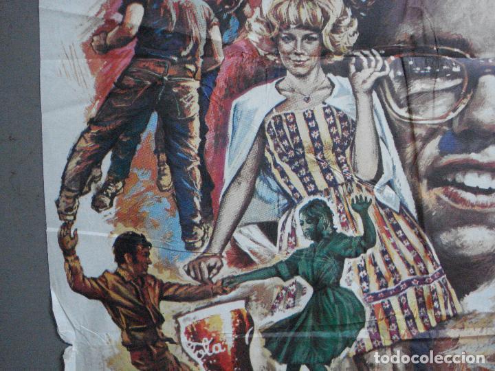 Cine: AAH69 AMERICAN GRAFFITI GEORGE LUCAS HARRISON FORD MAC POSTER ORIGINAL 70X100 ESTRENO - Foto 3 - 204655737