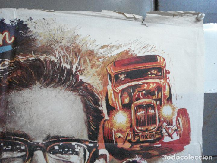 Cine: AAH69 AMERICAN GRAFFITI GEORGE LUCAS HARRISON FORD MAC POSTER ORIGINAL 70X100 ESTRENO - Foto 6 - 204655737