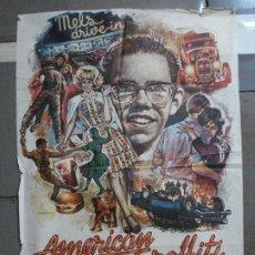 Cine: AAH69 AMERICAN GRAFFITI GEORGE LUCAS HARRISON FORD MAC POSTER ORIGINAL 70X100 ESTRENO. Lote 204655737
