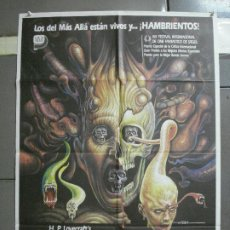 Cine: AAH74 RE-SONATOR FROM BEYOND STUART GORDON H P LOVECRAFT MAC POSTER ORIGINAL 70X100 ESTRENO. Lote 204659571