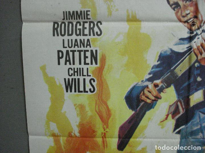 Cine: AAH85 UNA RAZON PARA VIVIR JIMMIE RODGERS LUANA PATTEN CHILL WILLS POSTER ORIGINAL 70X100 ESTRENO - Foto 3 - 204668103