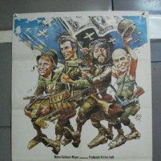 Cinéma: AAH99 LOS VIOLENTOS DE KELLY CLINT EASTWOOD POSTER ORIGINAL 70X100 ESTRENO. Lote 204674363