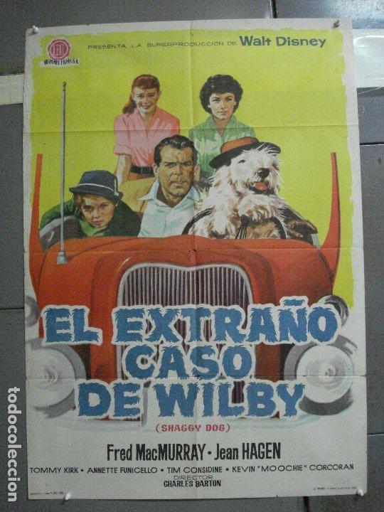 AAI09 EL EXTRAÑO CASO DE WILBY FRED MACMURRAY DISNEY POSTER ORIGINAL ESPAÑOL 70X100 ESTRENO (Cine - Posters y Carteles - Infantil)