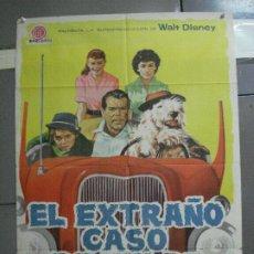 Cine: AAI09 EL EXTRAÑO CASO DE WILBY FRED MACMURRAY DISNEY POSTER ORIGINAL ESPAÑOL 70X100 ESTRENO. Lote 204682143