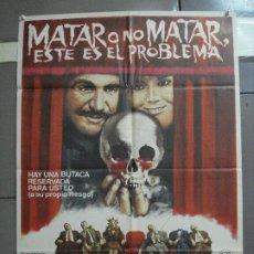 Cine: AAI12 MATAR O NO MATAR ESE ES EL PROBLEMA VINCENT PRICE POSTER ORIGINAL 70X100 ESTRENO. Lote 204683186