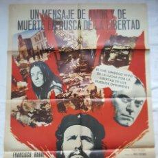 Cine: PÓSTER ORIGINAL EL CHÉ GUEVARA (1977) FRANCISCO RABAL. Lote 204692641