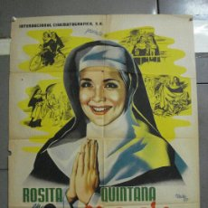 Cine: CDOM 2446 JOSEP RENAU SOR ALEGRIA ROSITA QUINTANA POSTER ORIGINAL MEJICANO 70X94. Lote 204766465