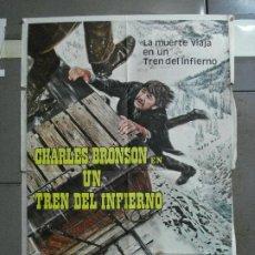 Cine: CDO 2473 NEVADA EXPRESS CHARLES BRONSON POSTER ORIGINAL ARGENTINO 75X110. Lote 204783743