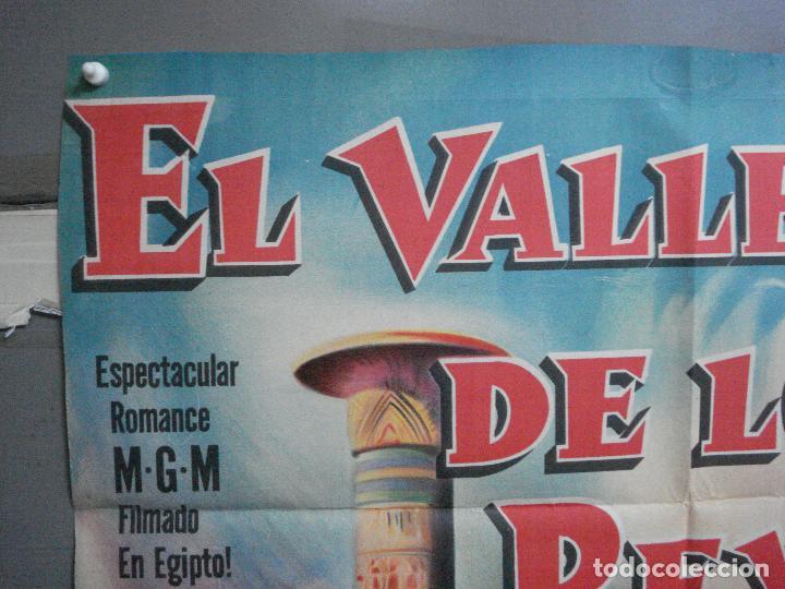 Cine: CDO 2476 EL VALLE DE LOS REYES ROBERT TAYLOR ELEANOR PARKER POSTER ORIGINAL ARGENTINO 75X110 LITO - Foto 2 - 204786265