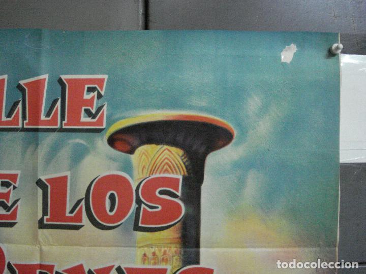 Cine: CDO 2476 EL VALLE DE LOS REYES ROBERT TAYLOR ELEANOR PARKER POSTER ORIGINAL ARGENTINO 75X110 LITO - Foto 6 - 204786265