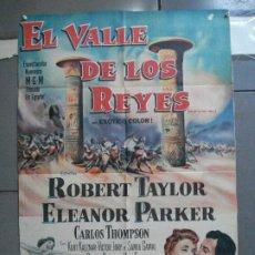 Cine: CDO 2476 EL VALLE DE LOS REYES ROBERT TAYLOR ELEANOR PARKER POSTER ORIGINAL ARGENTINO 75X110 LITO. Lote 204786265
