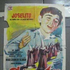 Cine: AAI26 SAETA DEL RUISEÑOR JOSELITO POSTER ORIGINAL 70X100 ESTRENO. Lote 204799542