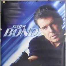 Cine: E1624D MUERE OTRO DIA JAMES BOND 007 PIERCE BROSNAN BANNER POSTER ORIGINAL 120X180 ESTRENO. Lote 204840682