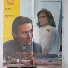 Cine: ANTIGUO CARTEL CINE TU DIOS Y MI INFIERNO+ 12 FOTOCROMOS 1975 CC232. Lote 204845506