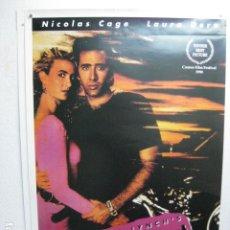 Cine: WILD AT HEART - POSTER CARTEL ORIGINAL USA - NICOLAS CAGE LAURA DERN DIANE LADD CORAZON SALVAJE. Lote 204984720