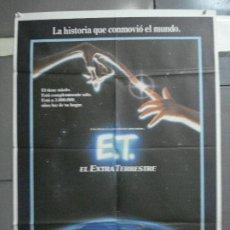 Cine: AAI60 E.T. EL EXTRATERRESTRE STEVEN SPIELBERG POSTER ORIGINAL 70X100 ESPAÑOL. Lote 205013238