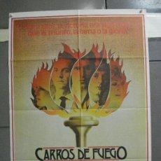 Cine: AAI66 CARROS DE FUEGO HUGH HUDSON OLIMPIADAS POSTER ORIGINAL 70X100 ESTRENO. Lote 205015865